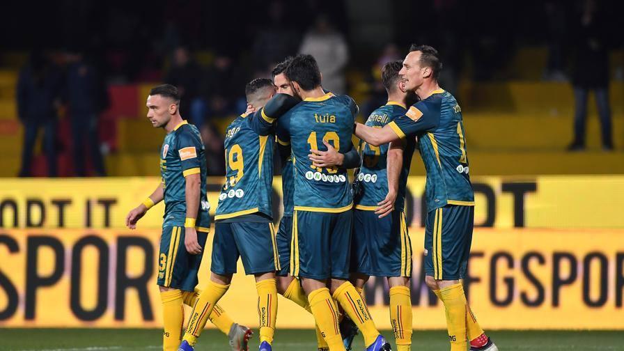 Serie B, Benevento-Pescara 2-1: c'è il sorpasso, campani secondi