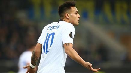 Lautaro Martinez, prima stagione all'Inter. Lapresse