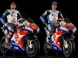 La coppia Ducati Pramac 2019: Jack Miller, a sinistra, e Pecco Bagnaia