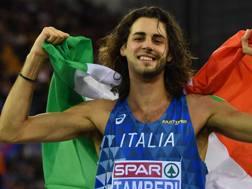 Gianmarco Tamberi, 26 anni. Afp