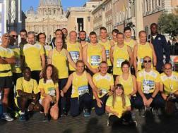 L'Athletica Vaticana in Piazza San Pietro