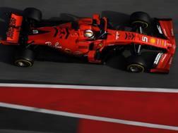 Sebastian Vettel. Afp