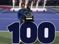 Il trionfo di Federer a Dubai. GETTY