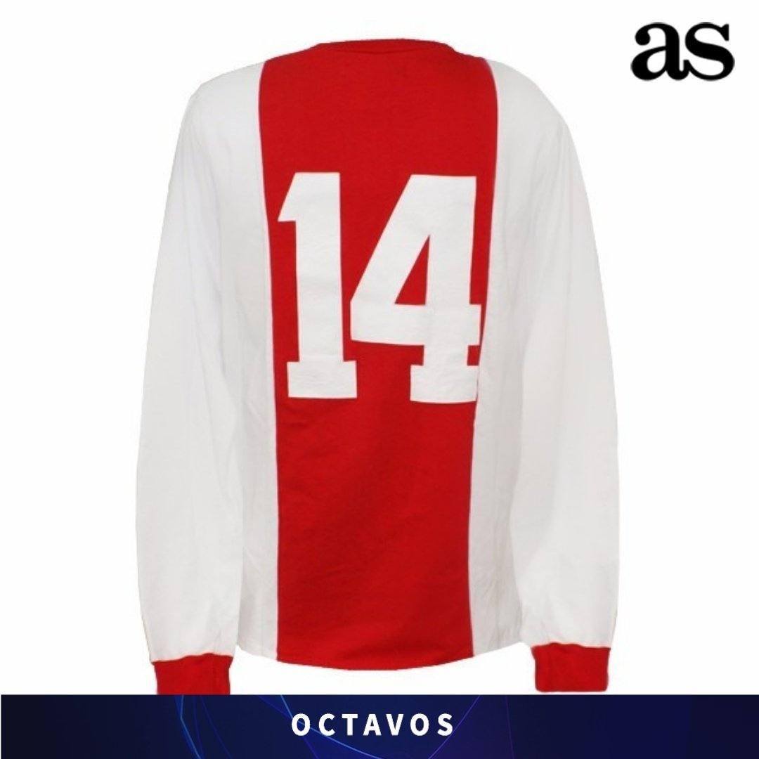 Sempre As, stavolta sul Twitter ufficiale, rende omaggio al risultato dell'Ajax con una foto della maglia di Johann Cruijff. Da 14 a 1-4 il passo è breve...