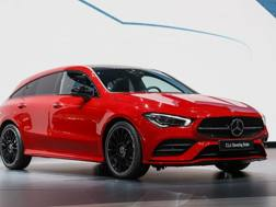 La Mercedes Cla Shooting Brake. Ap