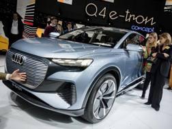 La Audi Q4 e-tron concept. Afp