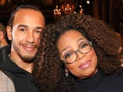 Lewis Hamilton e  Oprah Winfrey
