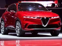 La concept dell'Alfa Romeo Tonale a Ginevra. Lapresse