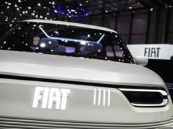 Il muso della Fiat Centoventi concept. Lapresse