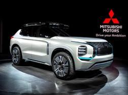 La concept Mitsubishi Engelberg Tourer. Getty