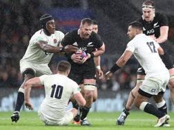 Una sfida tra Inghilterra e All Blacks a Twickenham. Getty
