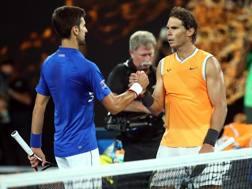 Novak Djokovic e Rafa Nadal, i più attesi a Indian Wells. Getty