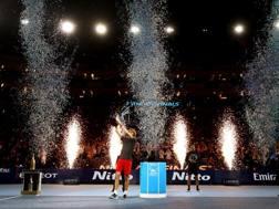 Alexander Zverev, 21 anni, alle ATP Finals 2018. Getty