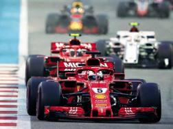 Abu Dhabi 2018: Sebastian Vettel ( 31 anni) autore del giro veloce nell'ultimo GP dell'anno