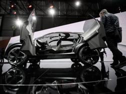 La Nissan IMq concept presentata a Ginevra. Ap