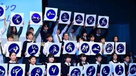 I pittogrammi di Tokyo 2020. Getty
