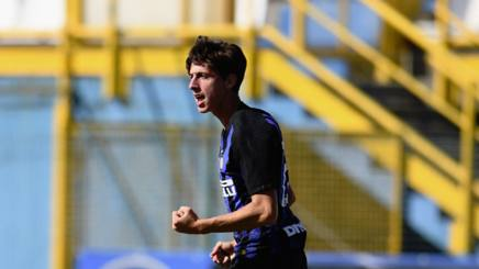 Mulattieri. Foto Twitter Inter