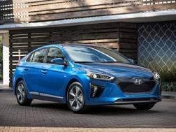 La Hyundai Ioniq elettrica. Ap