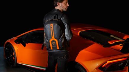 Lamborghini e Piquadro, ecco lo zaino