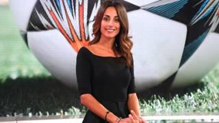 La conduttrice della Domenica Sportiva Giorgia Cardinaletti.