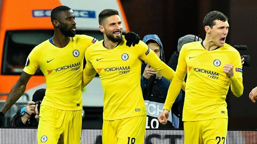 Europa League, il Chelsea passeggia sulla Dinamo Kiev e si ...