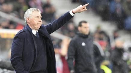 Carlo Ancelotti a Salisburgo. AP