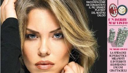 Costanza Caracciolo sulla cover del nuovo numero di Fuorigioco.