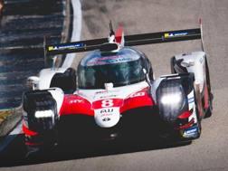 La Toyota TS 050 Hybrid di Alonso