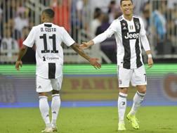 Costa-Ronaldo. Getty