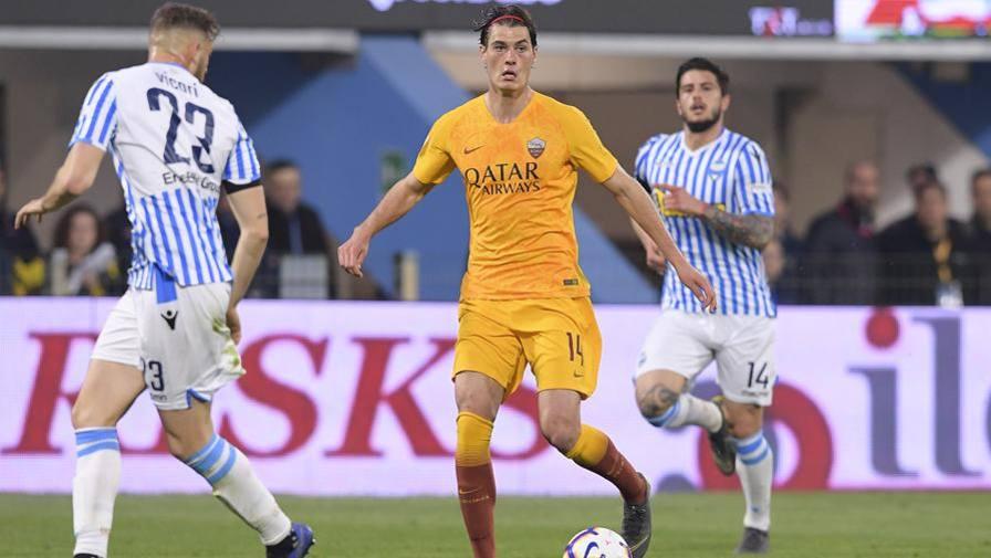 Entrano Zaniolo e Perotti LIVE Spal-Roma 1-0