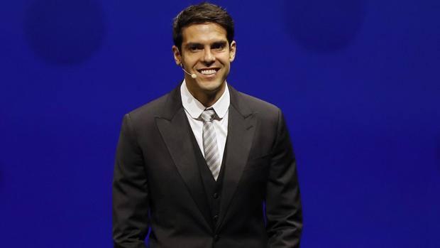 Kaká, 36 anni, ex stella del Milan. Epa