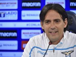 Il tecnico della Lazio, Simone Inzaghi
