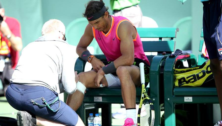 Indian Wells: Nadal è k.o. Salta match con Federer