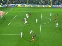 Il gol di Aguero in fuorigioco
