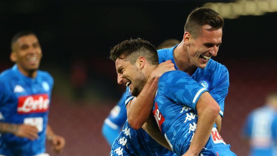 Il Napoli diverte il San Paolo Ma che paura per Ospina