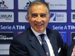 Il presidente della Fiorentina Mario Cognigni. Ansa