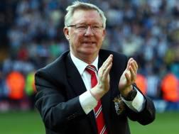 Sir Alex Ferguson, 77 anni. Epa
