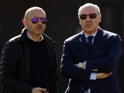 Il d.s. Piero Ausilio e l'a.d. Sport Beppe Marotta. Getty