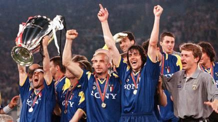 La Juve sul tetto d'Europa nel 1996