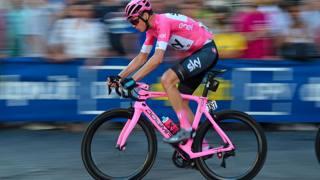Chris Froome, ultimo vincitore del Giro d'Italia (Bettini)