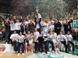 Così Siena festeggiava lo scudetto 2011. Ciamillo