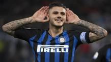 Mauro Icardi, 26 anni, argentino, gioca nell'Inter dal 2013: quest'anno ha segnato 15 gol tra A, Champions e Coppa Italia Getty