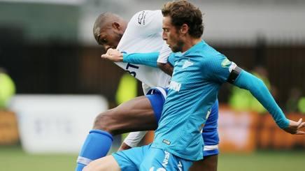 Claudio Marchisio in campo con la maglia dello Zenit. Getty