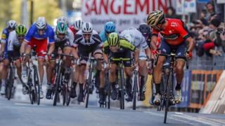 Vincenzo Nibali trionfa nel 2018 BETTINI