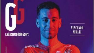 Vincenzo Nibali sulla copertina di