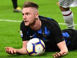 Milan Skriniar, difensore dell'Inter. Afp