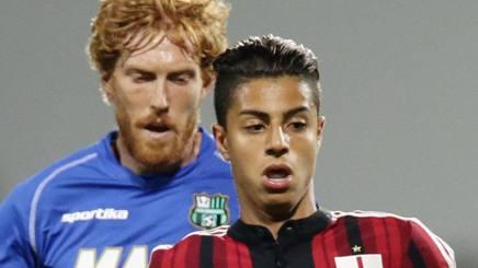 Hachim Mastour, ex attaccante del Milan, 20 anni. LaPresse