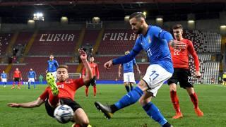 Un momento del match a Trieste. Getty