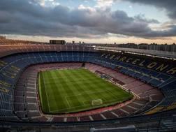 Il Camp Nou. Getty