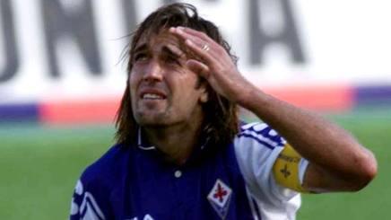 Gabriel Omar Batistuta. ex attaccante di Fiorentina e Roma, oggi 50 anni. LaPresse